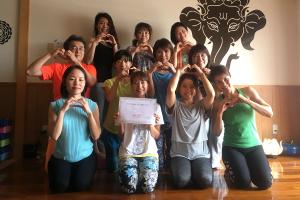 沖縄でヨガインストラクター講座